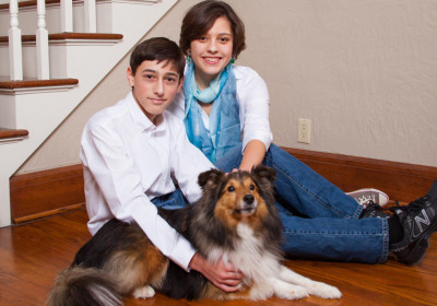 Fred Ferris Photography, Specializing in Family & High School Portrait Photography, with Pets