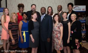 This is a group photo taken at an annual meeting whereby we created an online photo gallery for the attendees within 24 hours following the event.