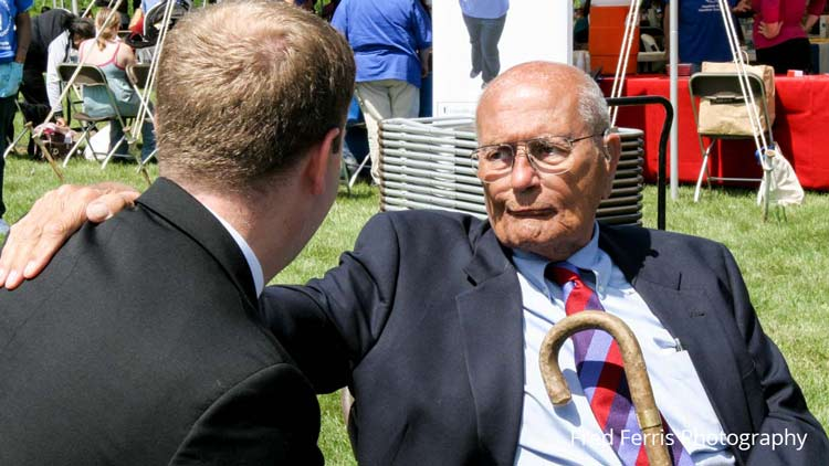 A Photograph that Captures Rep. John Dingell's Generous Spirit